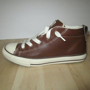 Converse All Star Junior Leather Sneakers